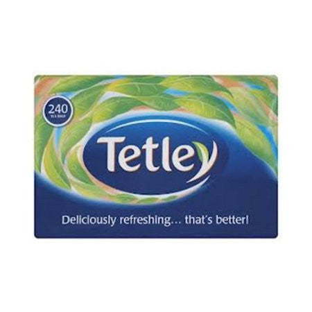 Tetley One-Cup Teabags (240) - DiscountCoffee
