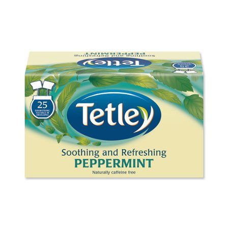 Tetley Peppermint Punch Herbal Infusion (25 bags) - DiscountCoffee
