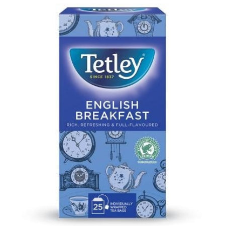 Tetley English Breakfast (25) | Discount Coffee