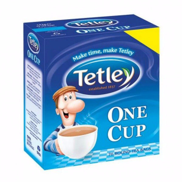 Tetley One-Cup Teabags (76) - DiscountCoffee