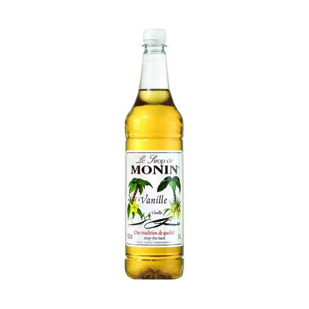 Monin Vanilla Flavouring Syrup (1 Litre) - DiscountCoffee