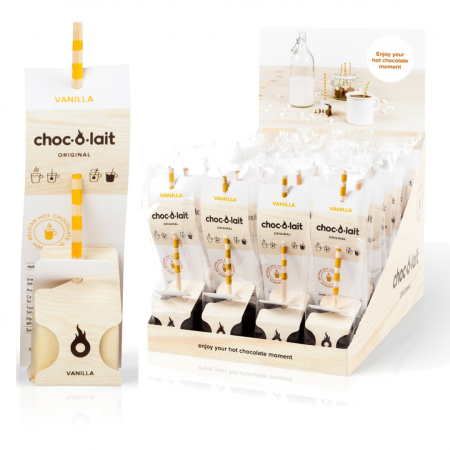 Choc-O-Lait - Stir In Hot Chocolate - Vanilla (33g)