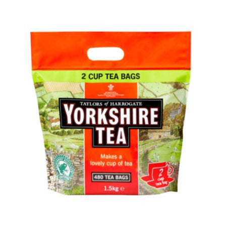 Yorkshire Tea Tea Bags (480) - DiscountCoffee