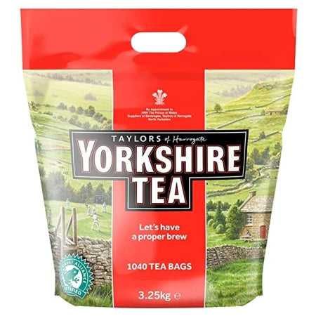 Yorkshire Tea Bags (1040) - Discount Coffee