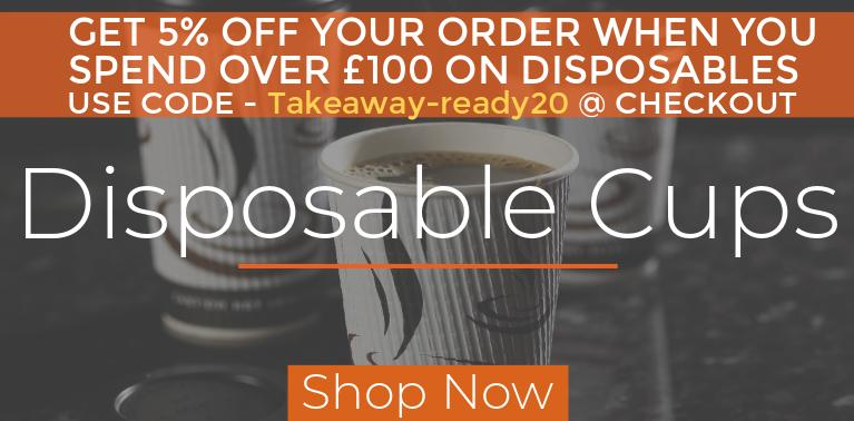 disposable paper coffee cups and lids