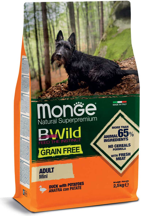 Monge Dog - BWild Grain Free - Mini