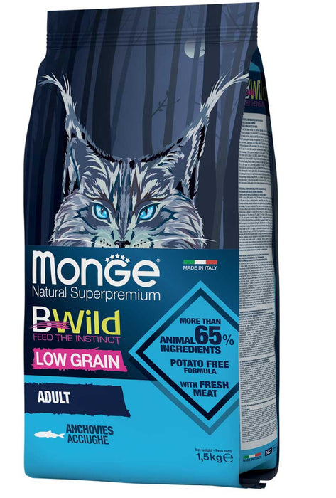 Monge Cat - BWild Low Grain