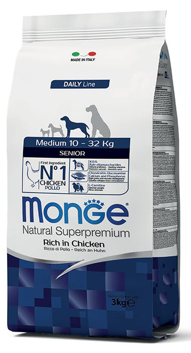 Monge Dog - Natural Superpremium - Medium e Maxi