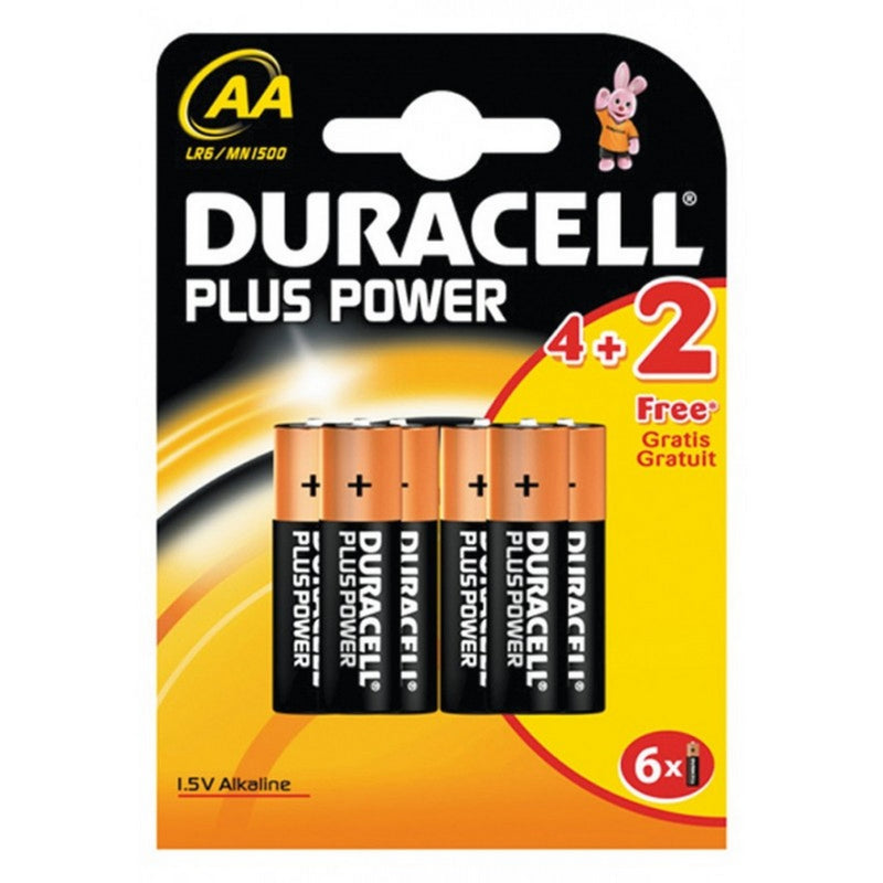 Pack 4+2 piles Ps Power Aa LR06