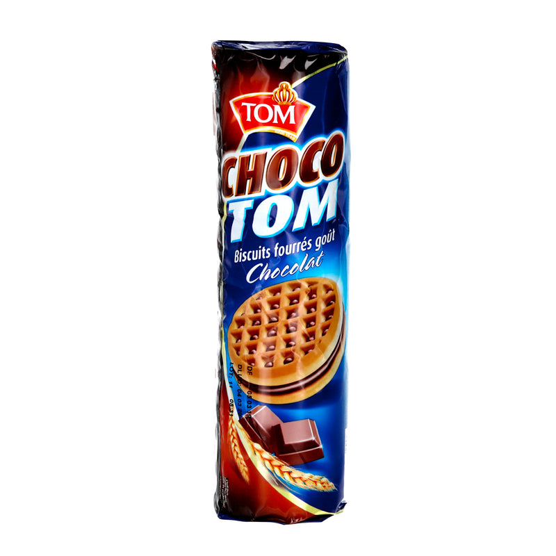 Biscuits fourrés au chocolat 190g TOM
