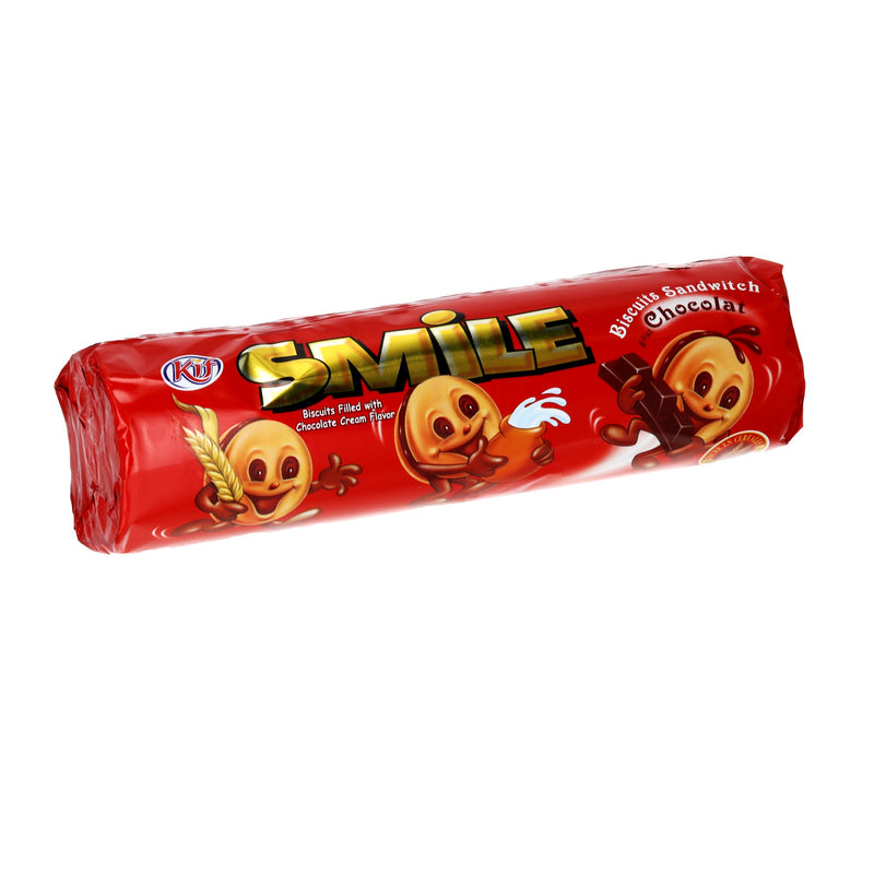Biscuits Smile chocolat le paquet de 190g