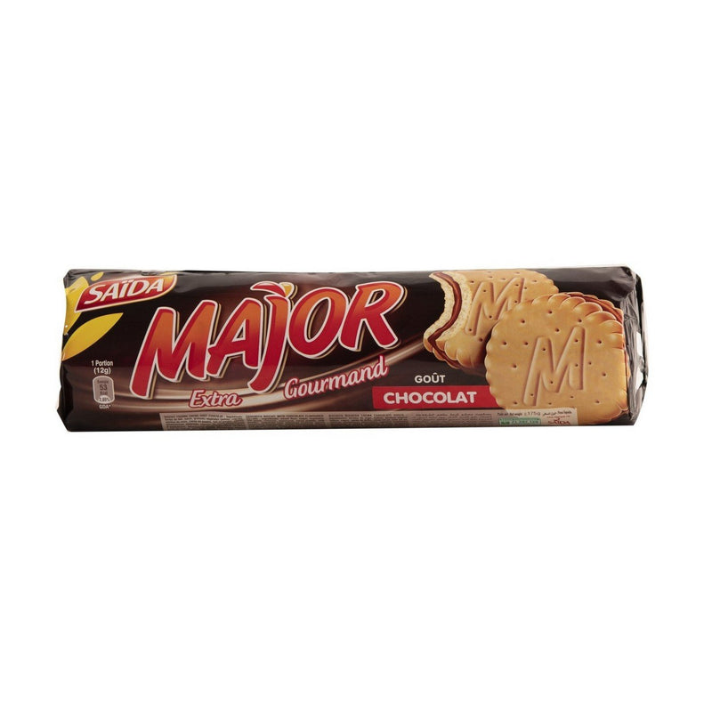 Biscuits chocolat Major 200g SAÏDA
