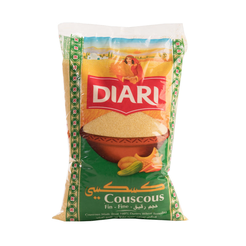 Lot de 2*1Kg Couscous fin  DIARI