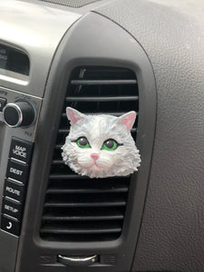 KITTEN PLASTER CAR AIR FRESHENER