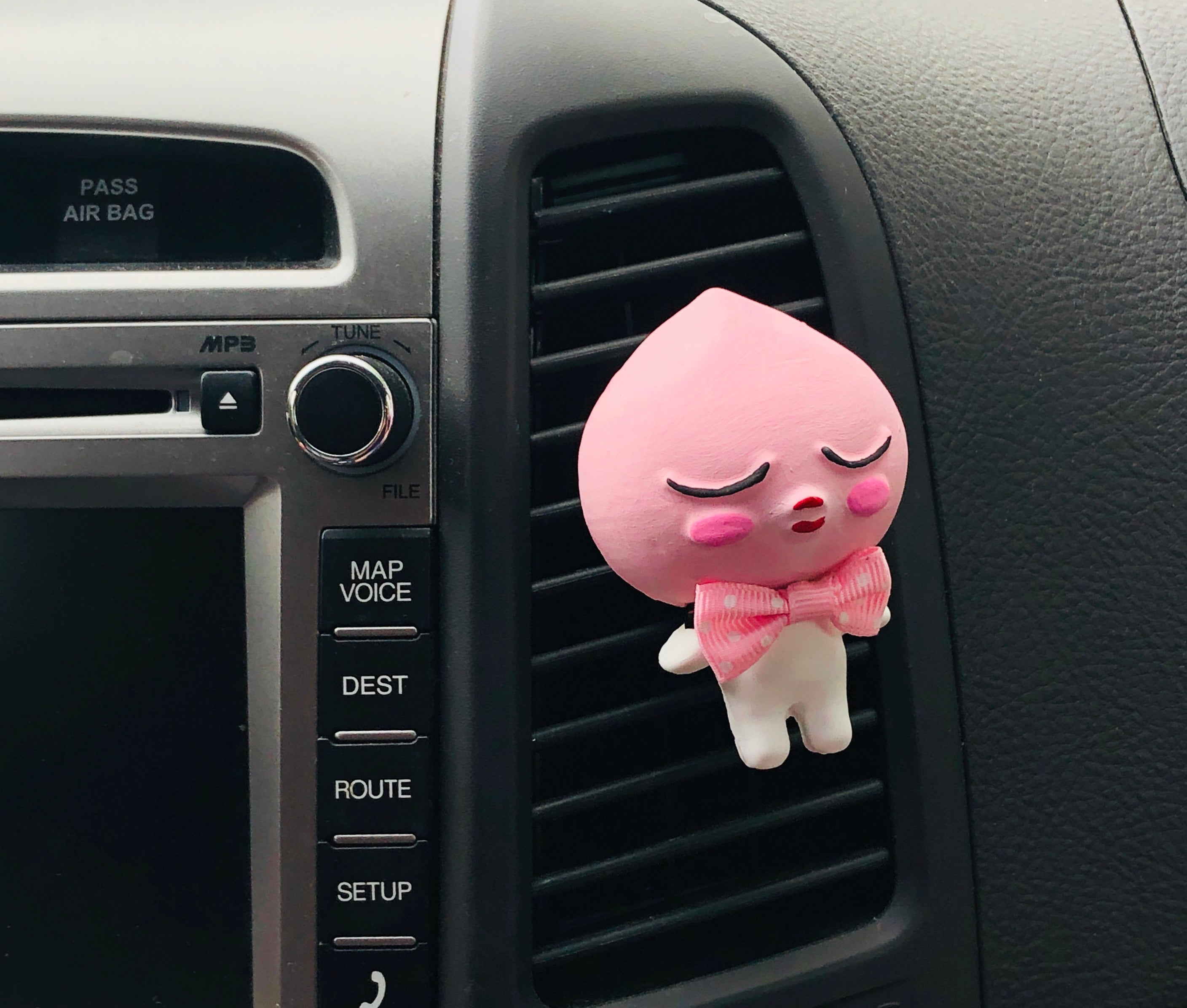 APEACH PLASTER CAR AIR FRESHENER
