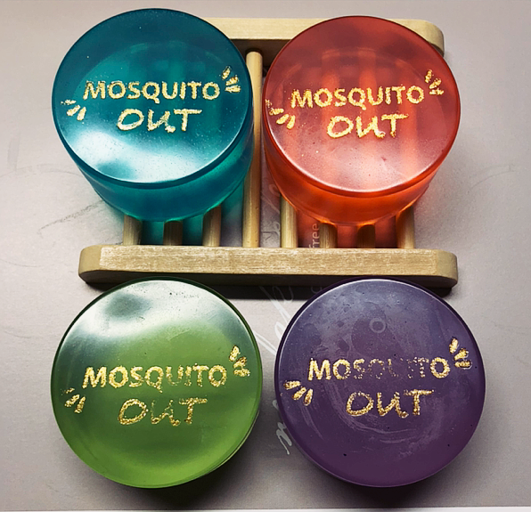 """MOSQUITO OUT"" SOAP"