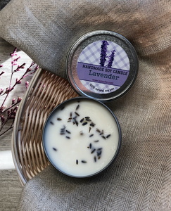 LAVENDER SOY CANDLE  6 oz