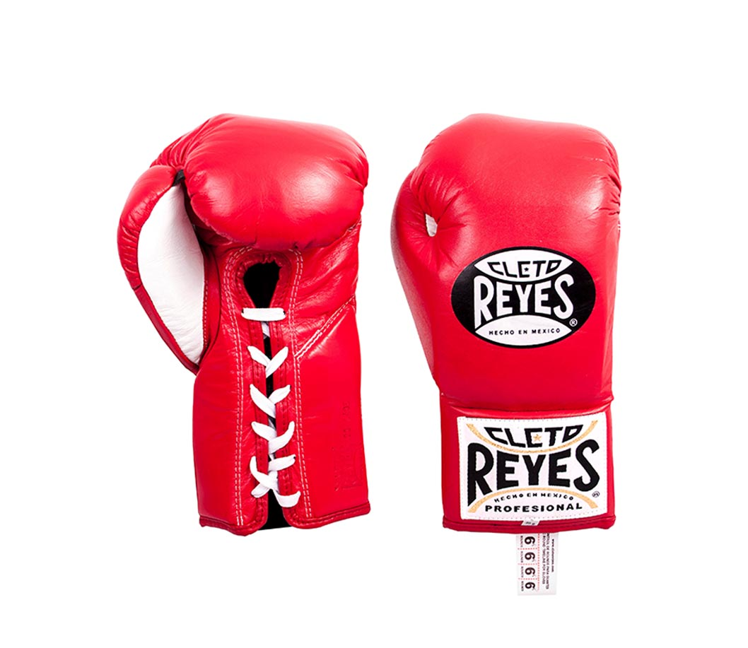 CLETO REYES - RED Traditional contest gloves
