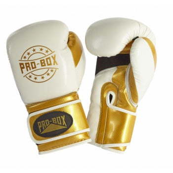 PROBOX-JUNIOR CHAMP SPAR' WHITE/GOLD GLOVES