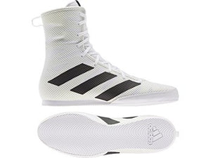 ADIDAS- BOX HOG 3 BOXING BOOTS White