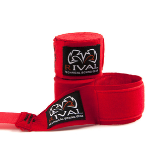 RIVAL-RED HAND WRAPS
