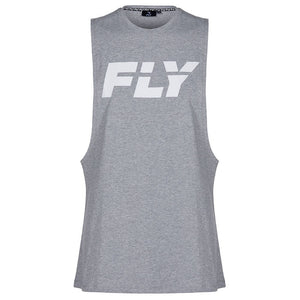 FLY-BIG LOGO TANK GREY