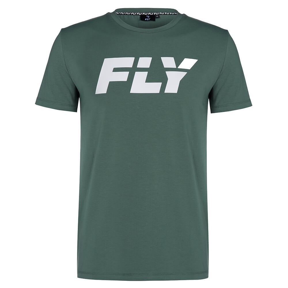 FLY-FLY BIG LOGO KHAKI TEE