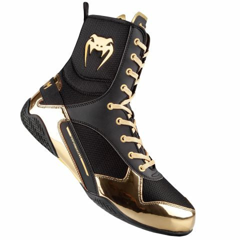 VENUM-ELITE BOXING BOOTS GOLD