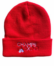 Load image into Gallery viewer, CHAMPS BXING-BEANIE/BOBBLE HAT