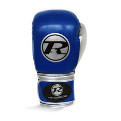 RINGSIDE - Pro Fitness BLUE/SILVER Gloves Synthetic Leather