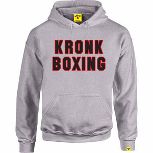 Kronk Boxing Hoodie Sport Grey Red Navy