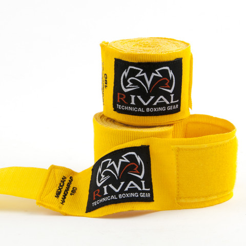 RIVAL-YELLOW HAND WRAPS