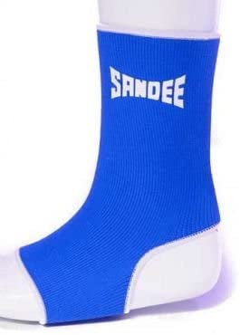 SANDEE-Premium Blue & White Ankle Supports (pair)