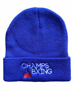 CHAMPS BXING-BEANIE/BOBBLE HAT