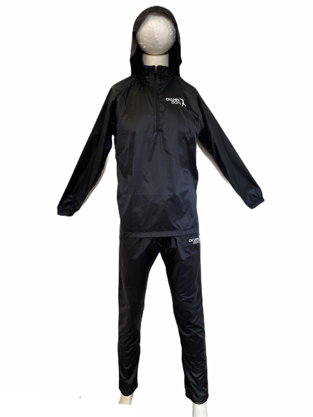 CHAMPS BXING-SAUNA SUITS ULTRA THIN (with hood)
