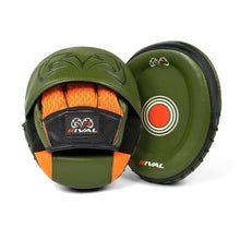 Load image into Gallery viewer, Rival-khaki green Boxing Impulse Punching Mitt MMA Focus Pad Coaching Target Pads Strike Pad