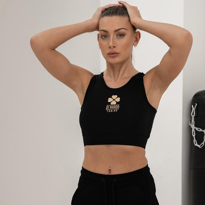 Di Nardo -Gym Crop Top