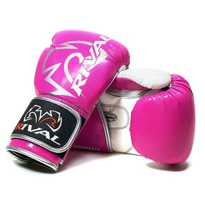 RIVAL-JUNIOR RB7 PINK/WHITE FITNESS PLUS BAG GLOVES