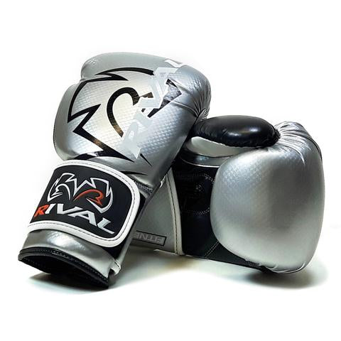 RIVAL- RB7 SILVER/BLACK FITNESS PLUS BAG GLOVES