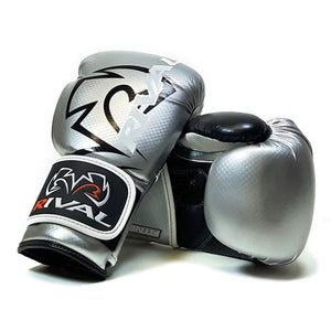 RIVAL-JUNIOR RB7 SILVER/BLACK FITNESS PLUS BAG GLOVES