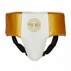 PROBOX-'CHAMP SPAR' White/Gold ABDO GUARD