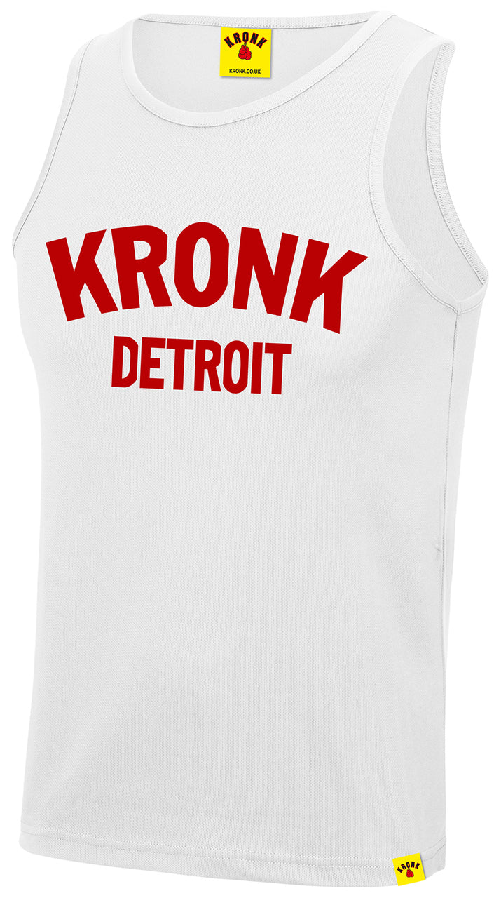 KRONK-Detroit Training Vest White