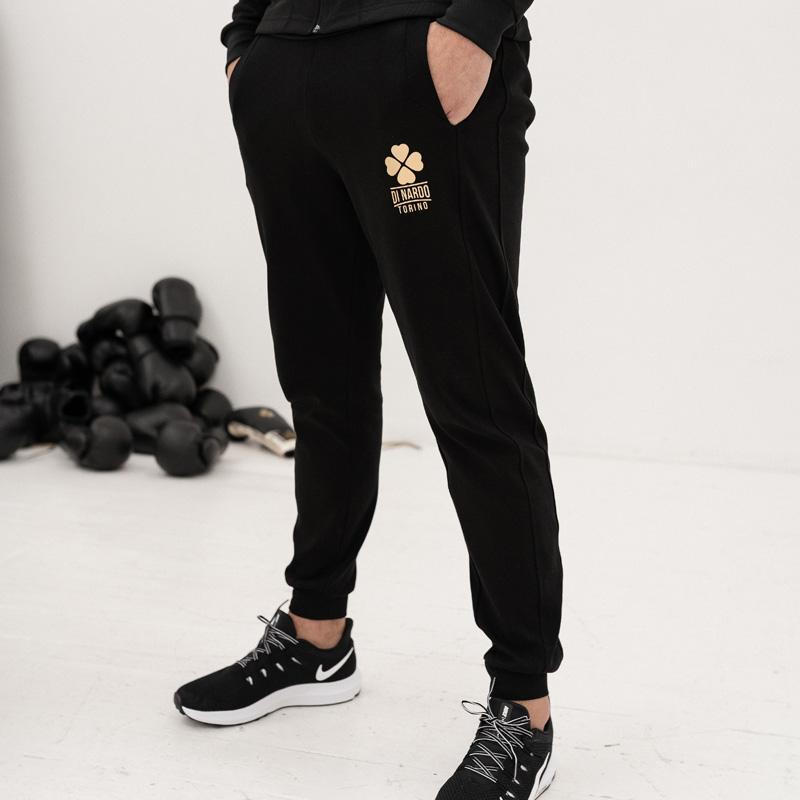 Di Nardo-Men's Black Joggers