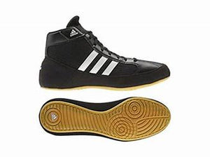 ADIDAS-JUNIOR BLACK HVC K  BOXING BOOTS