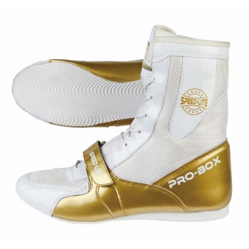 SPEED-LITE BOOTS WHITE-GOLD.