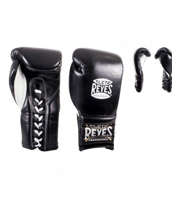 CLETO REYES-BLACK LACE SPARRING GLOVES