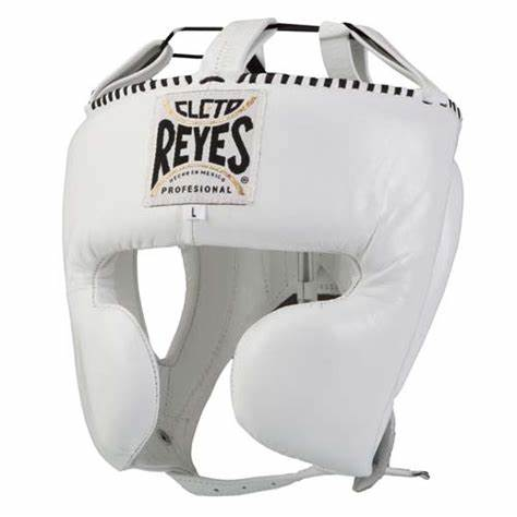 CLETO REYES-WHITE Headguard with Cheek Protection