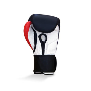 RINGSIDE-JUNIOR training glove – 8oz Black, Red & White