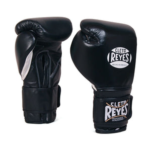 CLETO REYES-BLACK VELCRO SPARRING GLOVES