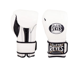 CLETO REYES-WHITE VELCRO SPARRING GLOVES